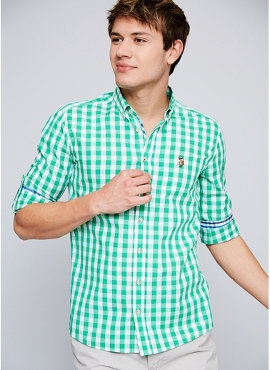 Kareli Oxford Gömlek-U.S.Polo Assn.